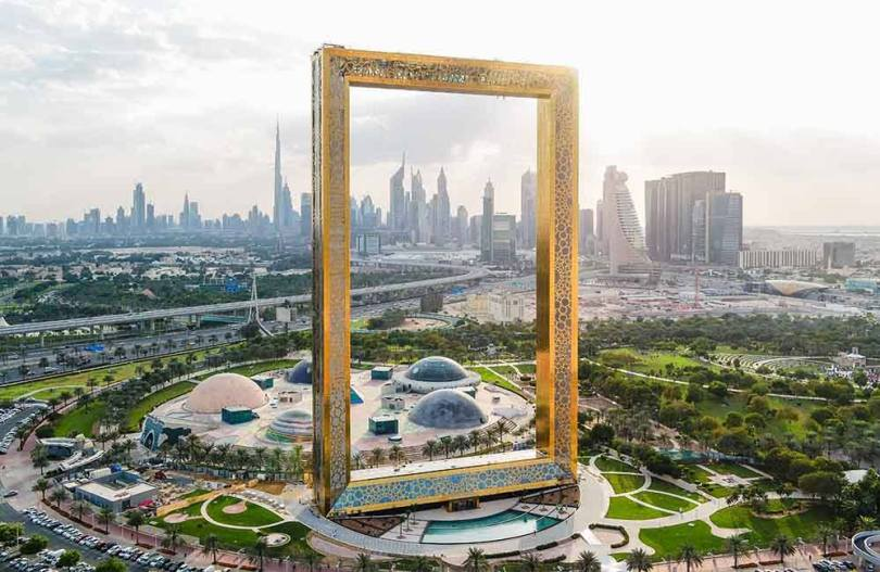 Dubai Frame is one of the best places to visit in Dubai