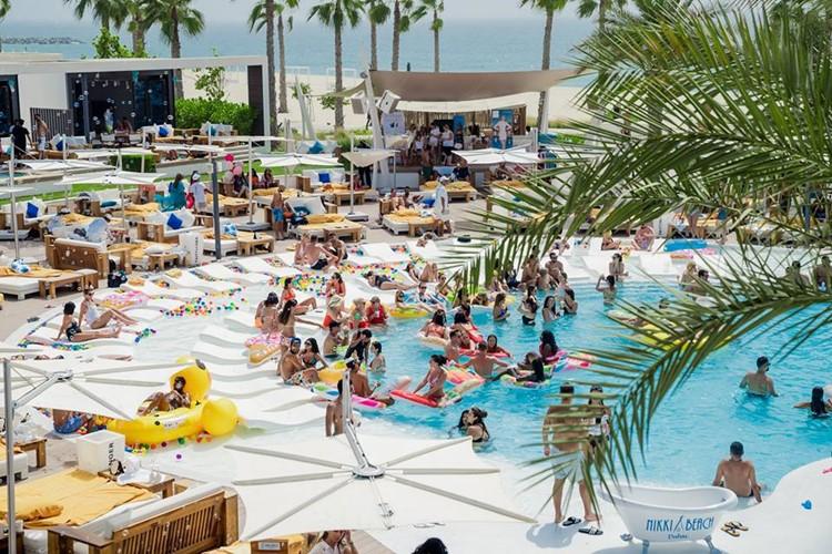 Nikki Beach is one of the best restaurants in Dubai