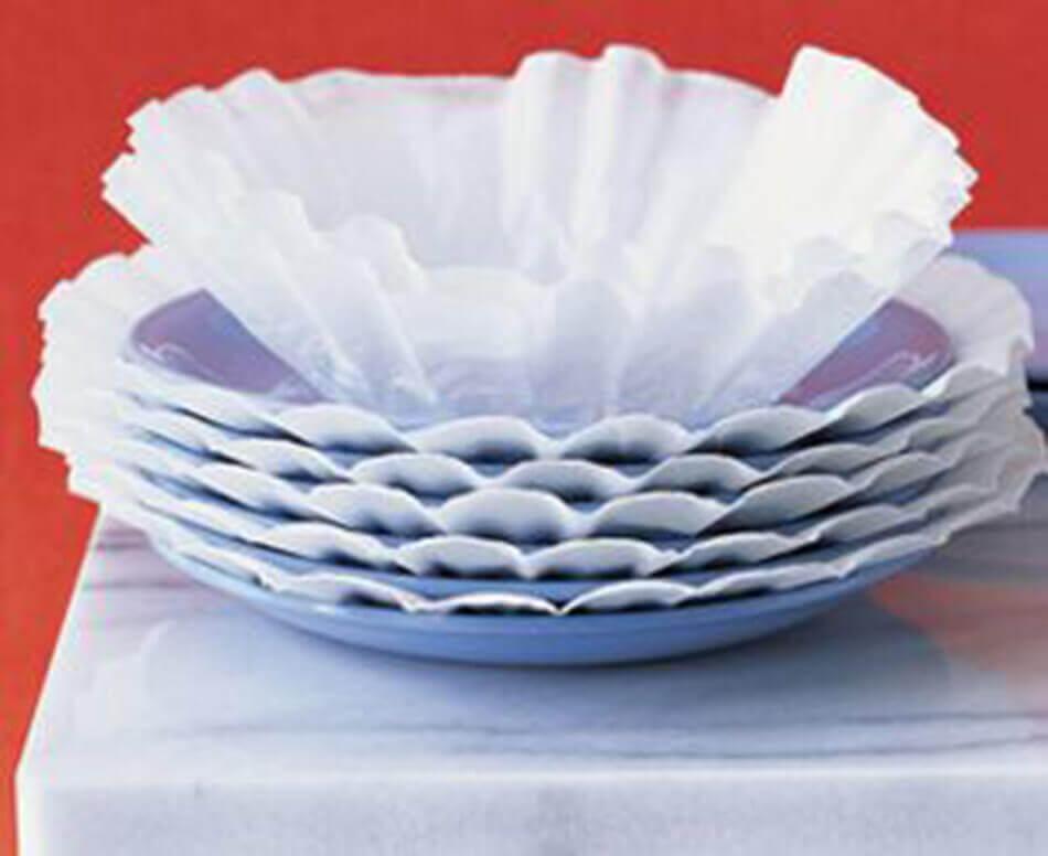 dish protectors storage