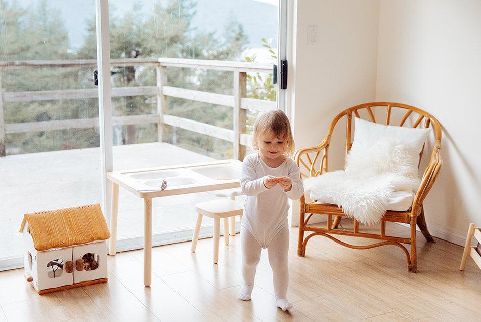 low profile furniture for playroom