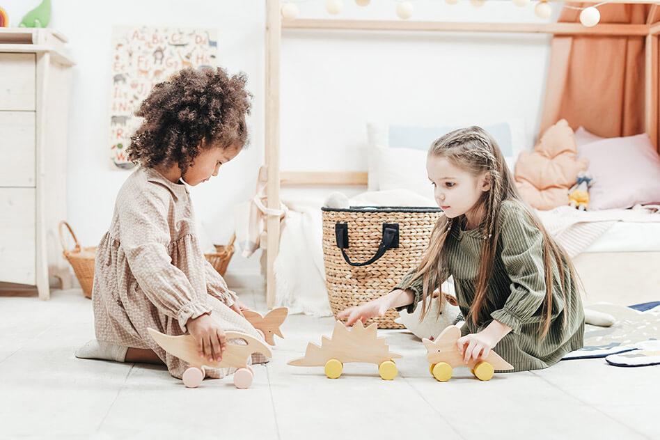 turn living room into playroom