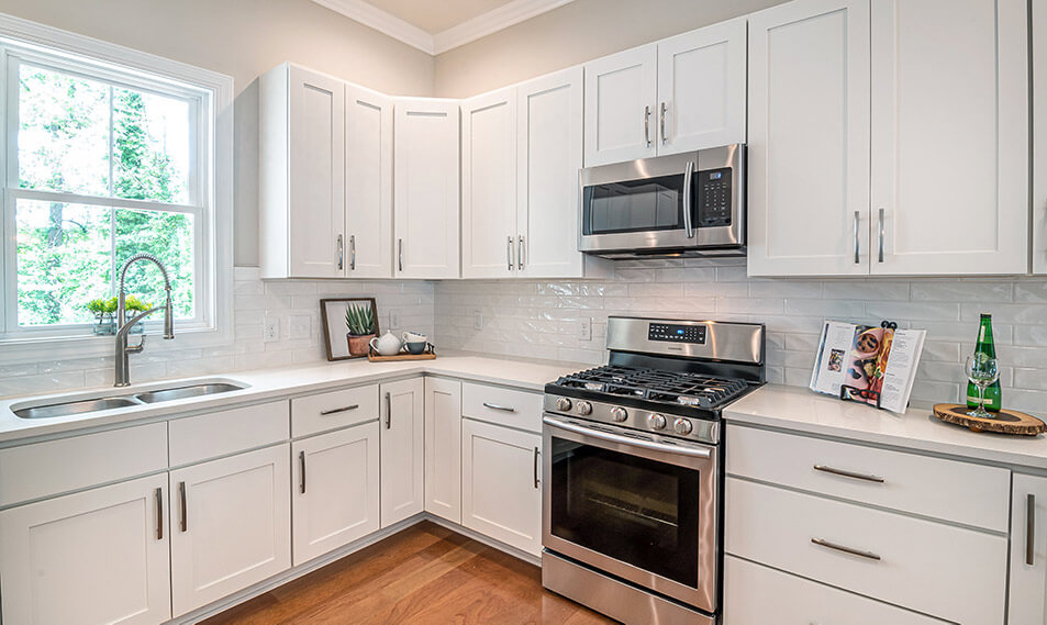 kitchen cabinets height from countertop