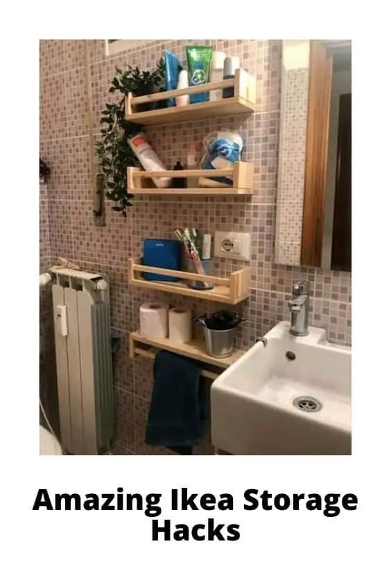 Ikea Bathroom Storage Hacks
