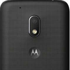 Moto G4 Play back