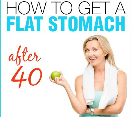 How To Get A Flat Stomach