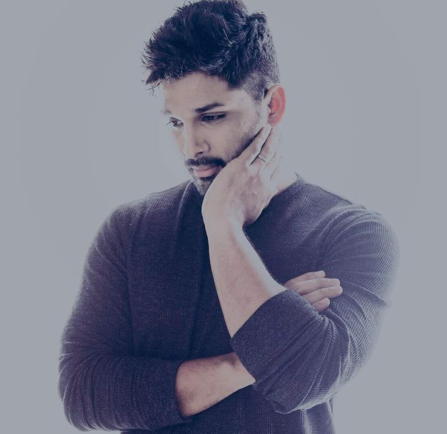 south Indian Hero photo with name allu
