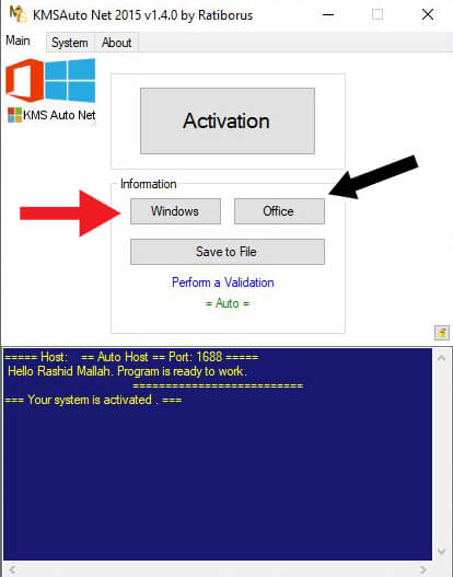 How To Activate Windows using KMS AUTO