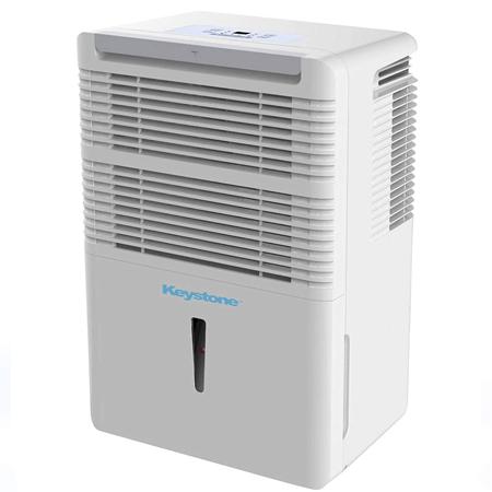 Keystone KSTAD50B Energy Star 50-Pint Portable Dehumidifier