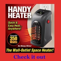 Small Plug In Wall Heater [2018 Buying Guide and Reviews ...