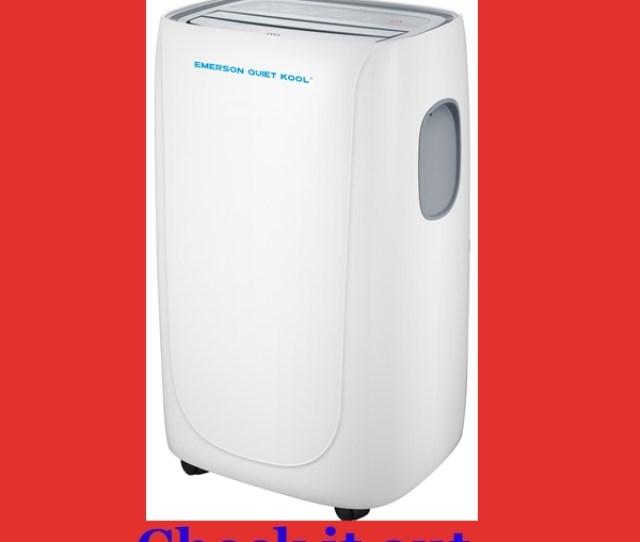 Emerson Quiet Kool 10000 Btu Quietest Portable Air Conditioner 52dba