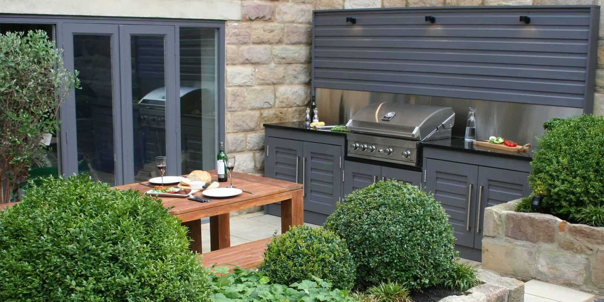 Outdoor kitchen in your garden  Bestall  Co