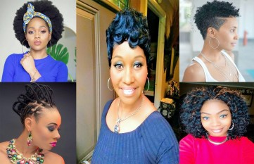 Cute Black Hairstyles for Natural Impression