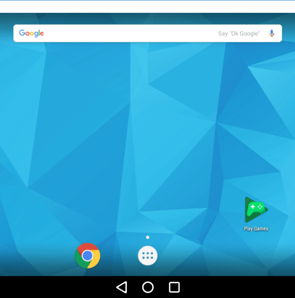 Click on Google Play Store Icon