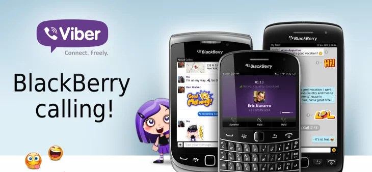 Viber for BlackBerry Latest Version Free Download