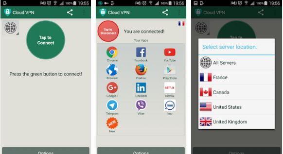 CloudVPN - best VPN apps for Android