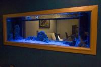 Custom Wall Mounted Aquarium | Aquarium Design Ideas
