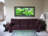 Wall Mounted Aquarium Design | Aquarium Design Ideas