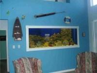 Wall Mounted Aquarium Glass Fish Tank | Aquarium Design Ideas