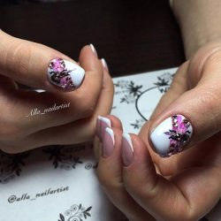 How To Do A French Manicure On Short Nails You Can It At Home Pictures Designs For The Nail