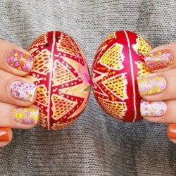 Easter Nail Art 2017 Photo