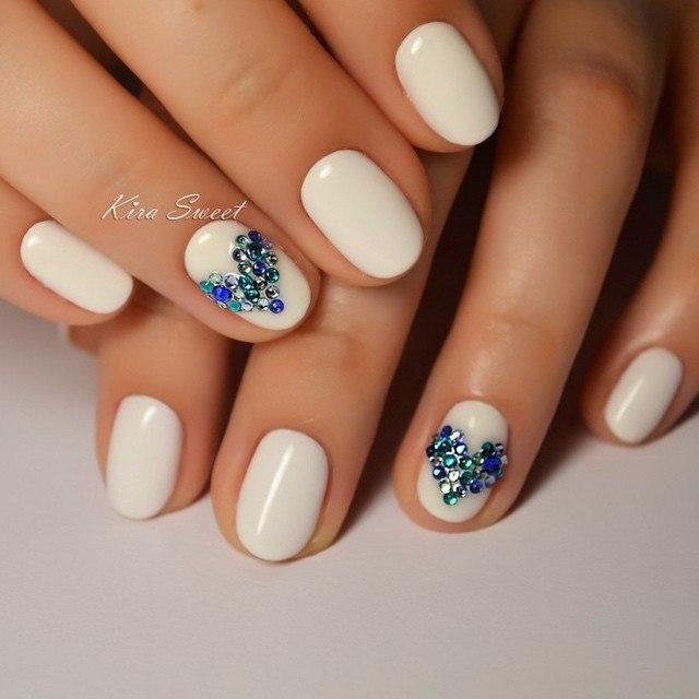 20 Blue Winter Nails Art Designs Ideas 2016