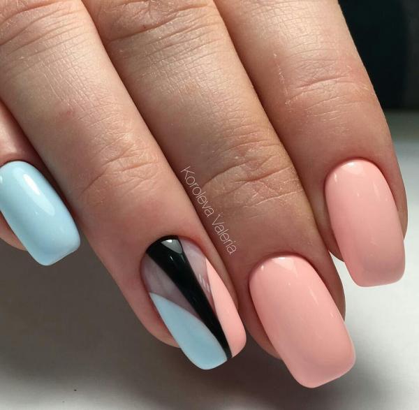 2017 Blue Nail Art Designs