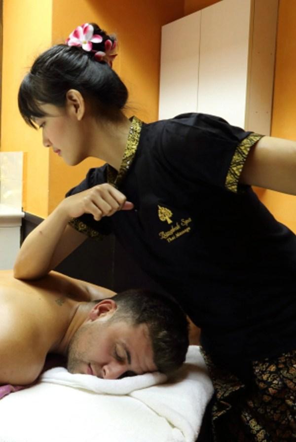 Table Shower Asian Massage Vegas