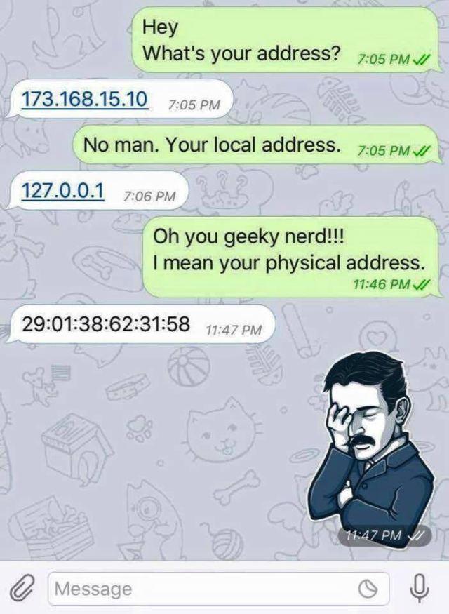 Geek joke