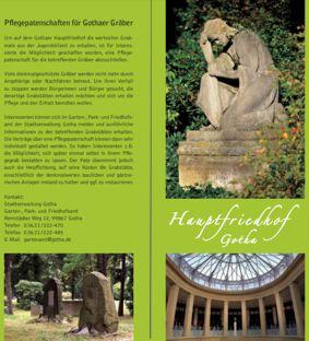 Flyer Hauptfriedhof