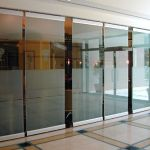 glass sliding doors interior