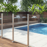 frameless glass pool fencing Melbourne
