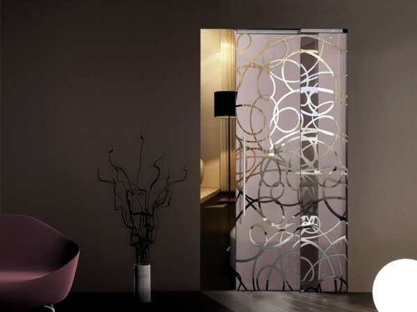 Design glass for doors