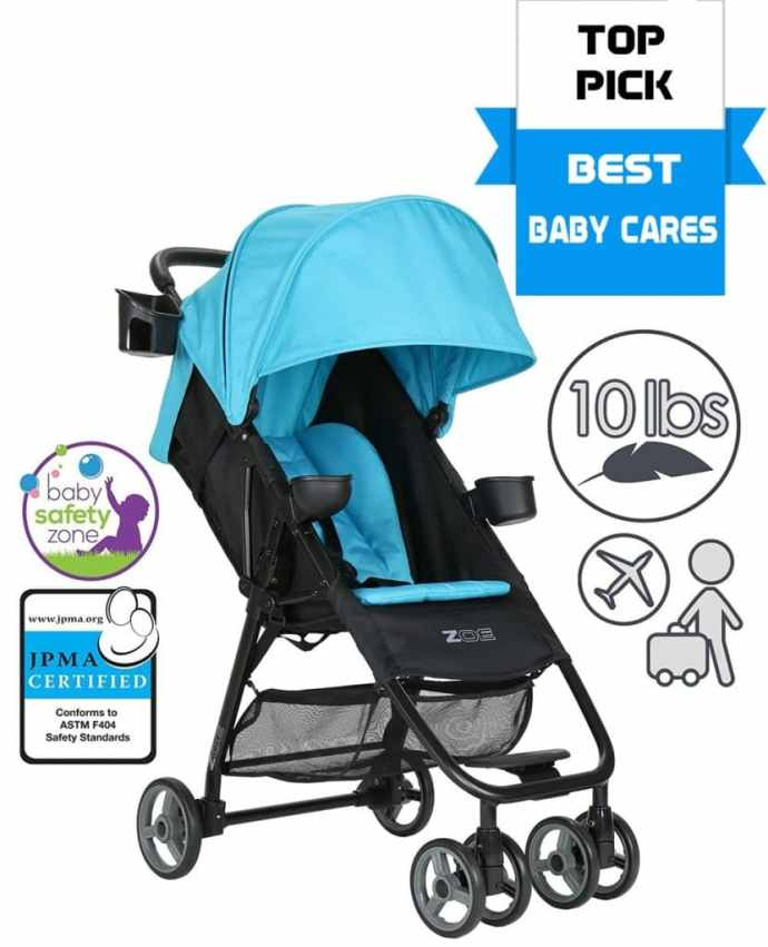 ZOE Umbrella XL1 Single Stroller, DELUXE top pick