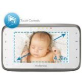 In Home Monitor with 4.3-i Color LCD Screen & Touch Controls