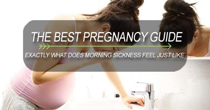 EXACTLY WHAT DOES MORNING SICKNESS FEEL JUST LIKE
