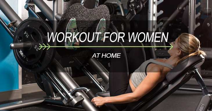 workout for women at home