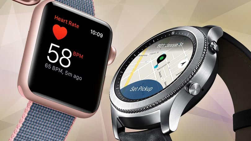 smartwatch apple watch vs android watch