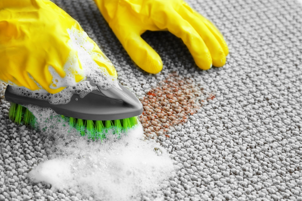 Removing tough stains