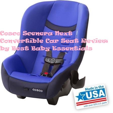Cosco Scenera Next Convertible Car Seat Review in 2020 ...