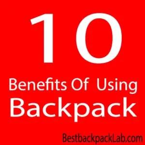 10 преимуществ использования рюкзака