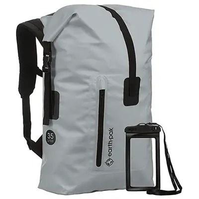 35L-55L Heavy Duty Roll Top Waterproof Backpack by Earth Pak