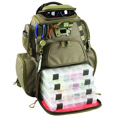 Custom Leathercraft Wild River CLC WT3604 Tackle Tek Nomad Lighted Backpack