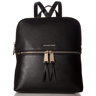 Michael Kors Rhea Medium Slim Leather Backpack