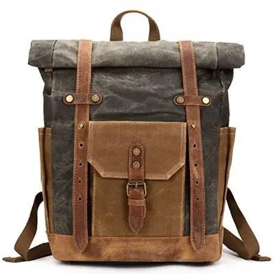 Лучшие женские и мужские кожаные рюкзаки с фото