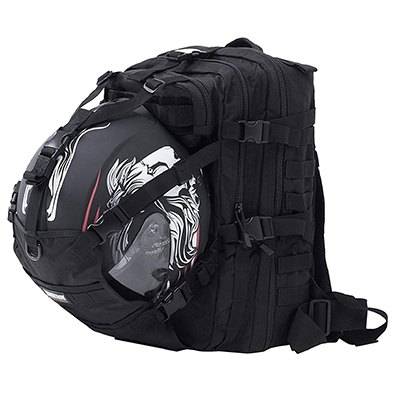Seibertron Waterproof Large Capacity Molle Motorcycle Helmet Holder