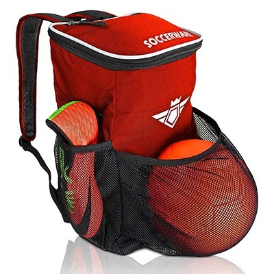 Soccerwave Ball Backpack with Ball Holder Compartment