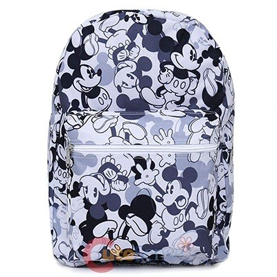 Disney Mickey Mouse Large School Backpack All Over Prints Bag