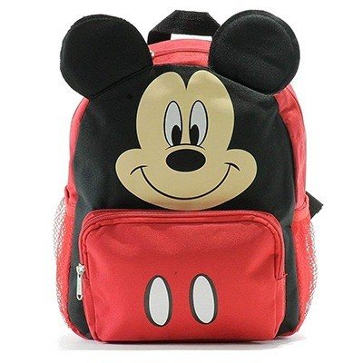 Disney Personalized Minnie Mouse Face Backpack Book Bag