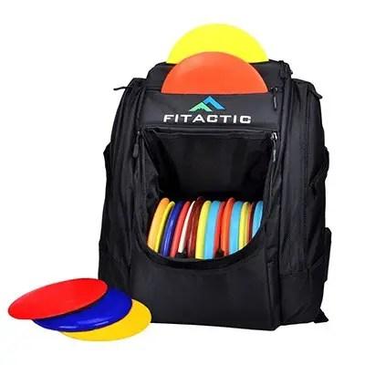 FITactic Luxury Frisbee Disc Golf Bag Backpack