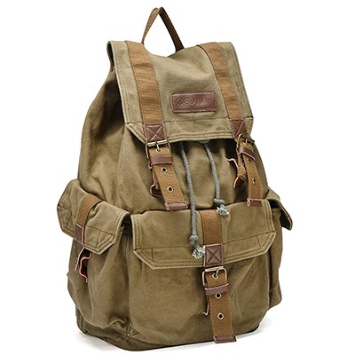Gootium 21101 Specially High-Density Thick Canvas Backpack